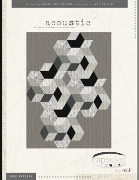 Acoustic Quilt Pattern by AGF Studio