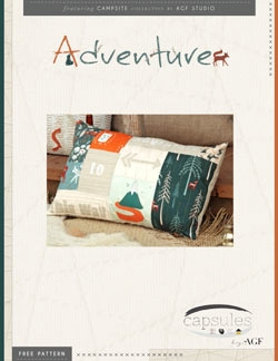 Adventure Pillow by AGF Studio Instructions