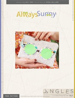 Always Sunny Pouch by AGF Studio Instructions