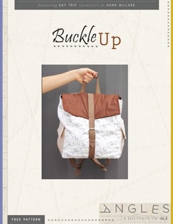 Buckle up Backpack by AGF Studio Instructions