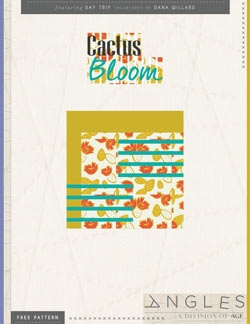 Cactus Bloom Pillow by AGF Studio Instructions