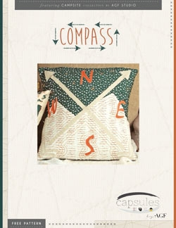 Compass Pillow by AGF Studio Instructions