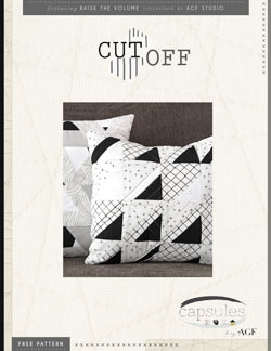 Cut Off Pillow by AGF Studio Instructions