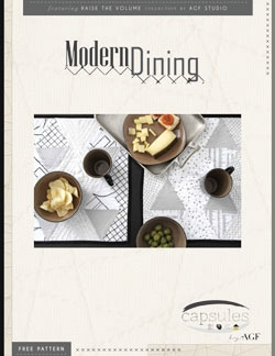 Modern Dining Placemats by AGF Studio Instructions