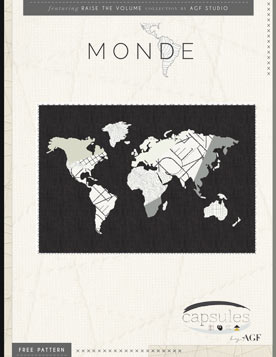 Monde Quilt Pattern by AGF Studio
