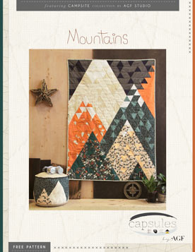 Moonlit Camp Quilt Pattern by AGF Studio
