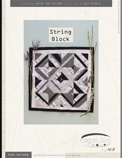 String Block by AGF Studio Instructions