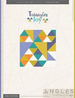 Triangle Joy Pillow by AGF Studio Instructions