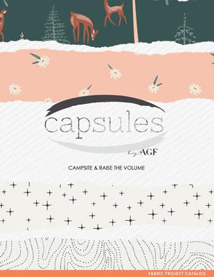 Campsite and Raise the Volume Capsules by AGF Studio Lookbook