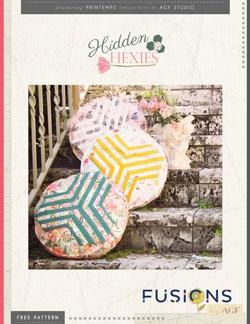 Hidden Hexies Pillow by AGF Studio Instructions