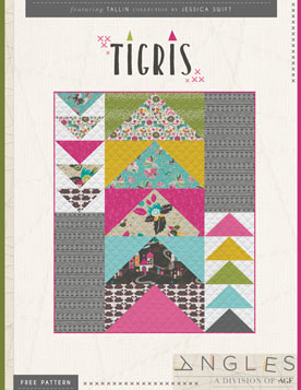 Tigris Quilt Pattern by AGF Studio