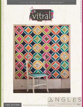 Vitral Quilt Pattern by AGF Studio