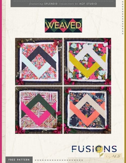 Weaved Quilt Block by AGF Studio Instructions