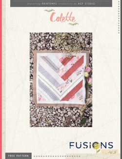 Colette Quilt Block by AGF Studio Instructions