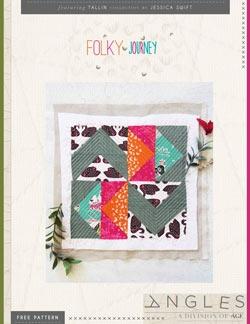 Folky Journey Block by AGF Studio Instructions