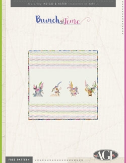 Brunch Time Napkins by AGF Studio Instructions