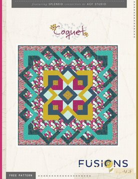 Coquet Quilt by AGF Studio