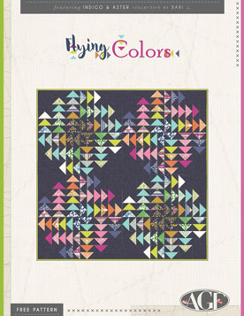 Flying Colors Quilt by AGF Studio