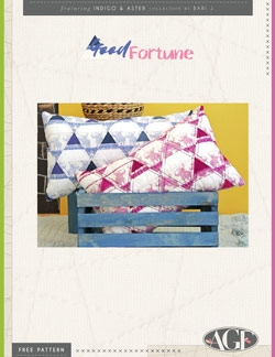 Good Fortune Pillow by AGF Studio Instructions