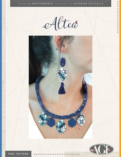Altea Earrings and Necklace by AGF Studio Instructions