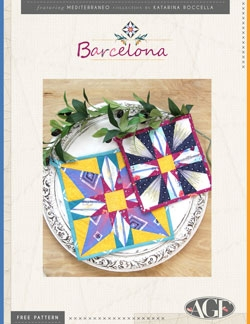 Barcelona Pot Holders by AGF Studio Instructions
