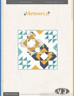 Menorca Mini Quilt by AGF Studio Instructions