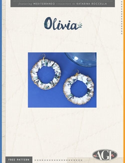 Olivia Earrings by AGF Studio Instructions