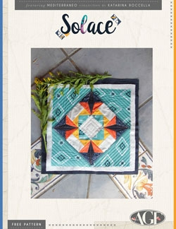 Solace Quilt Block by AGF Studio Instructions
