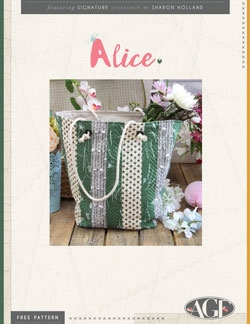 Alice Tote Pattern Instructions