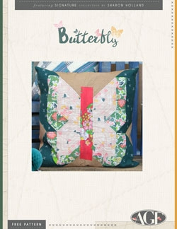 Butterfly Pillow Pattern Instructions