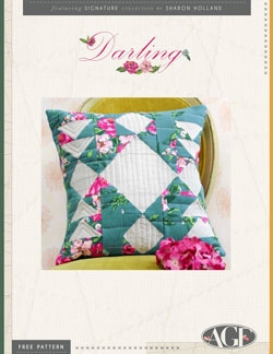 Darling Pillow Pattern Instructions