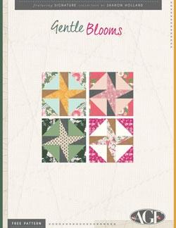 Gentle Blooms Blocks Pattern Instructions