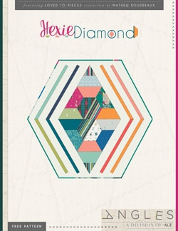 Hexie Diamond Table Mat by AGF Studio Instructions
