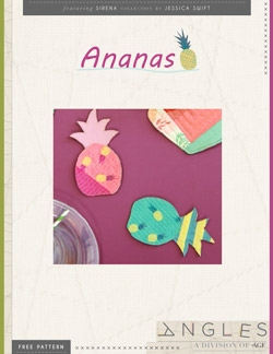 Ananas Coasters by AGF Studio Instructions