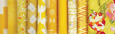 Gold Leaf Fabric Edition