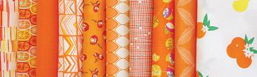 Tangerine Summer Edition Fabric Box
