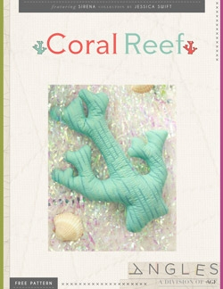 Coral Reef Pillows by AGF Studio Instructions
