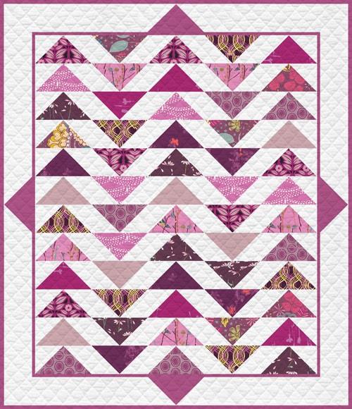 KPQF-101 Vibrant Violet Quilt Kit