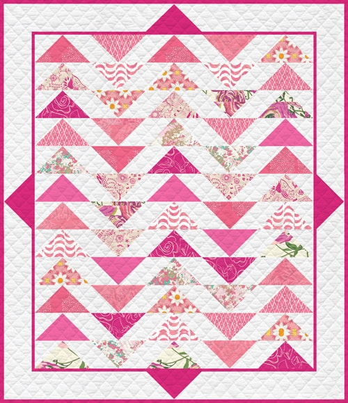 KPQF-102 Life is Pink Quilt Kit