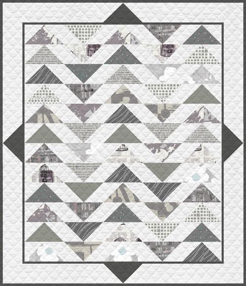 KPQF-111 Clean Slate Quilt Kit