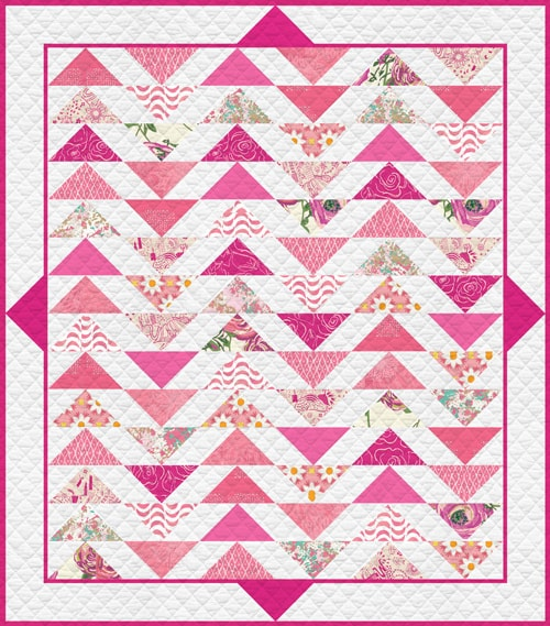 KPQH-102 Life is Pink Quilt Kit