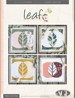 Leaf Quilt Block by AGF Studio Instructions