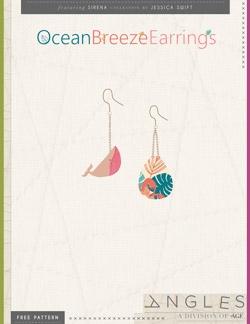 Ocean Breeze Earrings by AGF Studio Instructions