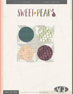 Sweet Pear Pillow by AGF Studio Instructions