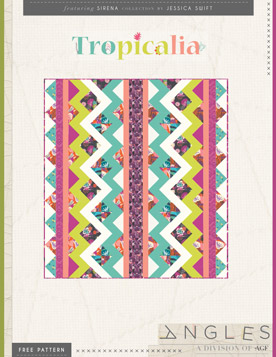 Tropicalia Quilt by AGF Studio
