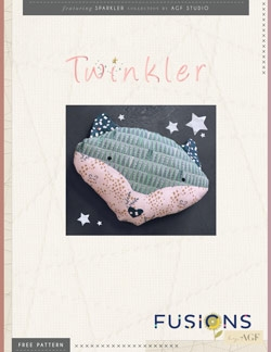 Twinkler Pillow by AGF Studio Instructions