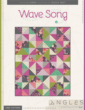 Wave Song Quilt by Jessica Swift