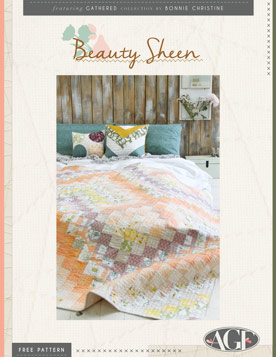Beauty Sheen Quilt by AGF Studio
