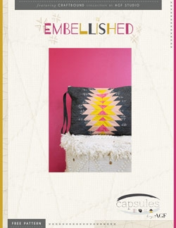 Embellished Clutch by AGF Studio Intructions