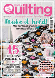 love patchwork and quilting magazine issue 41